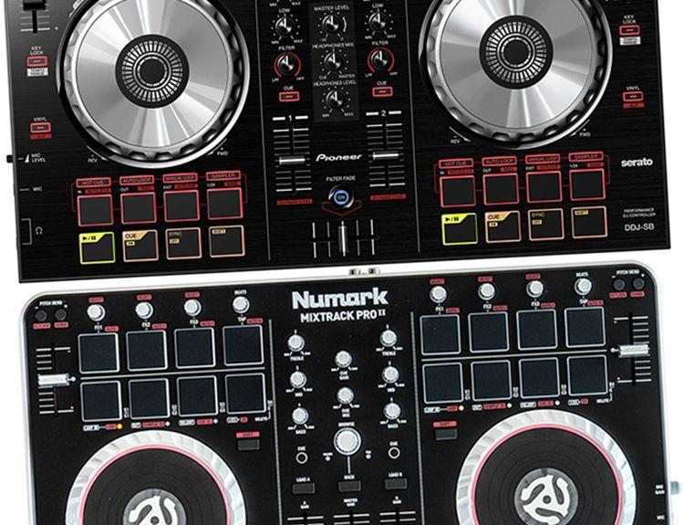 Pioneer Ddj Sb Vs Numark Mixtrack Pro 2 Pioneer Ddj Pioneer Digital Dj