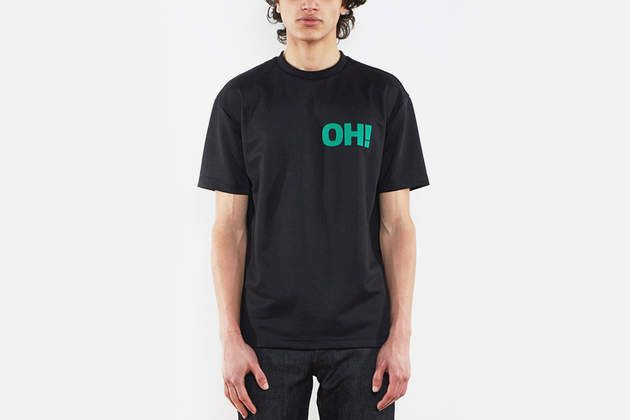 Dan Boxed Short-Sleeve T-Shirt by Olaf Hussein on What Drops Now