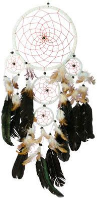 White Dreamcatcher I Have One On My Bed Post Good