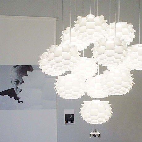 Flight 55 Lampshade & Fixture by Bjarne Urhammer for NovoForm | MONOQI #bestofdesign #lighting