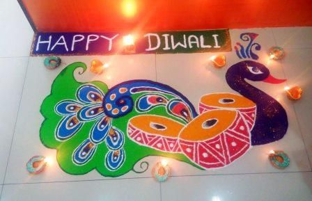 Diwali Rangoli Designs 2019 | 30 Beautiful and Latest Easy Rangoli Design