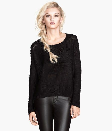 All Over Knit Sweater $36 | Fashion, Sweaters, Knitted