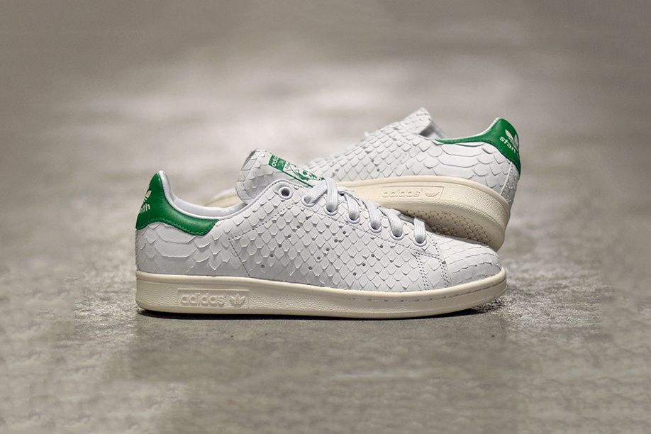 The adidas Stan Smith Slithers into Summer with a Luxe