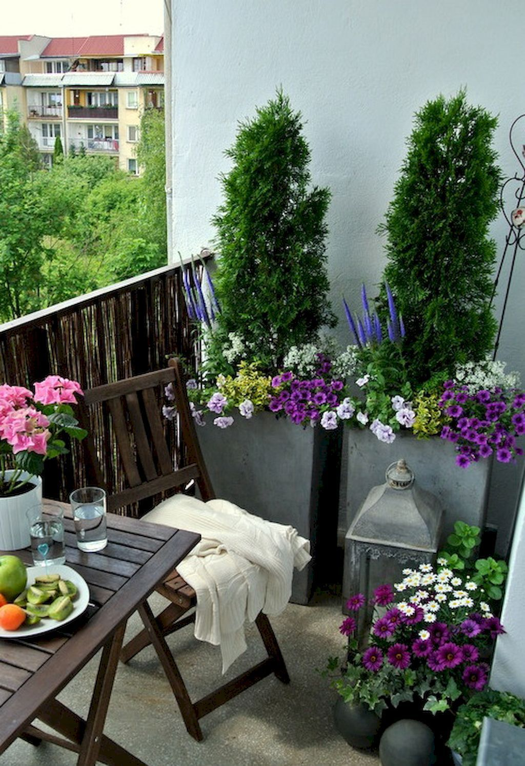 Adorable 80 Small Apartment Balcony Decorating Ideas on A Budget  https://decorapartment. - Pin On Apartment