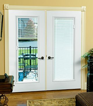 Patio Doors With Built In Blinds. With Sliding Plantation Shutters  Modernize Your Glass Door Beautiful