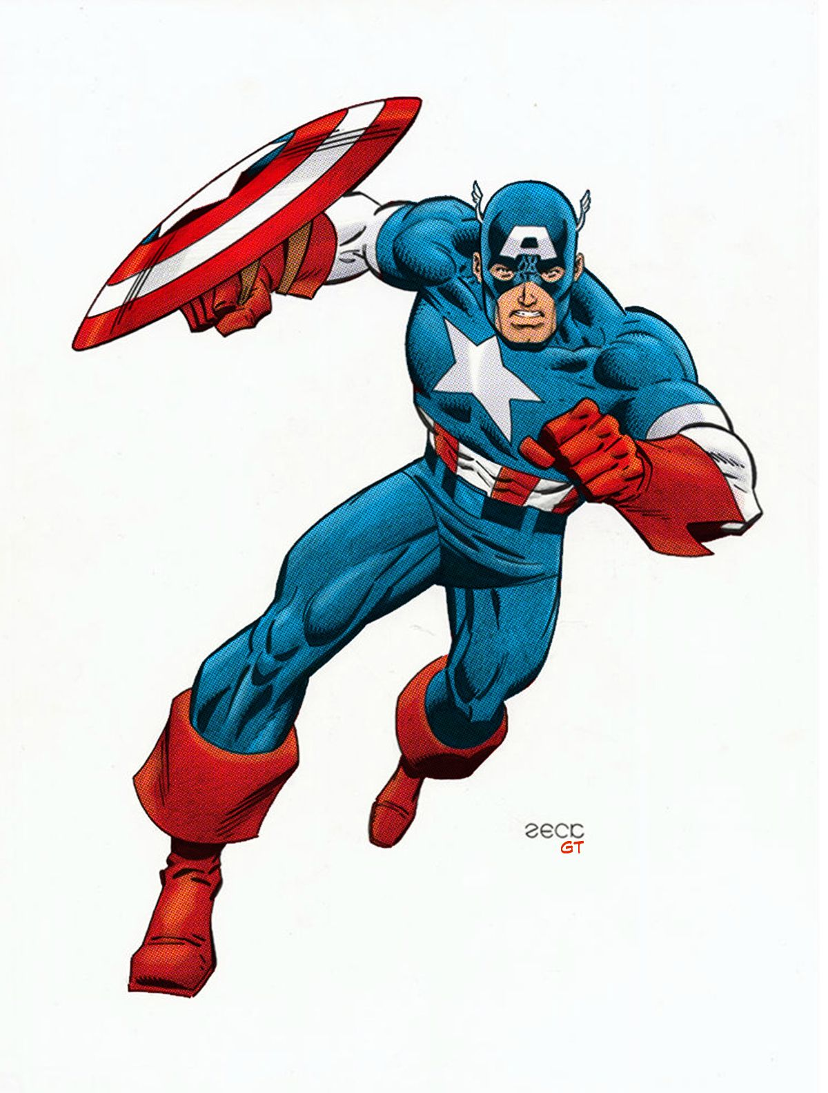 Marvel Malvorlagen Marvel Superhero The Marvel Super: Captain America Illustration - Google Search