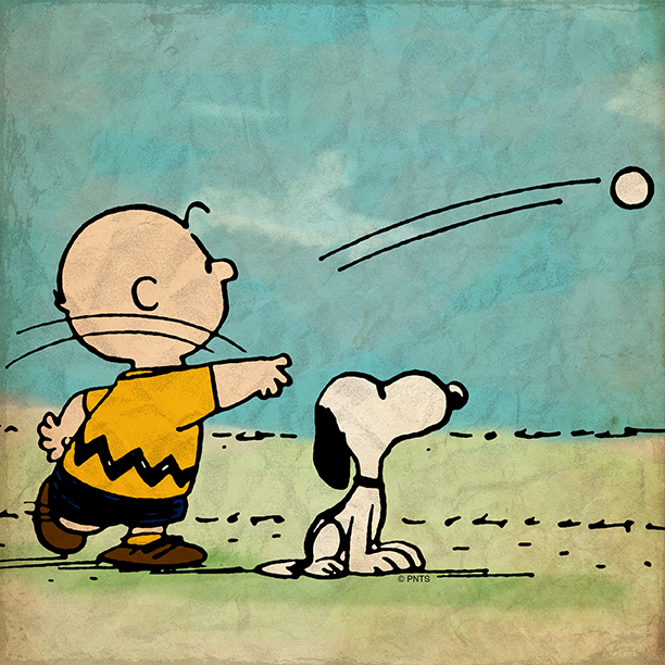 I feel sorry for someone who has to win at everything - Snoopy