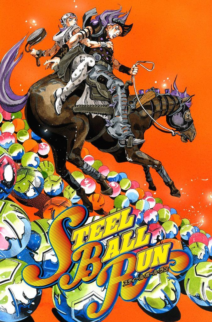 Steel Ball Run 28: Scary Monsters Part 1 (Official Color