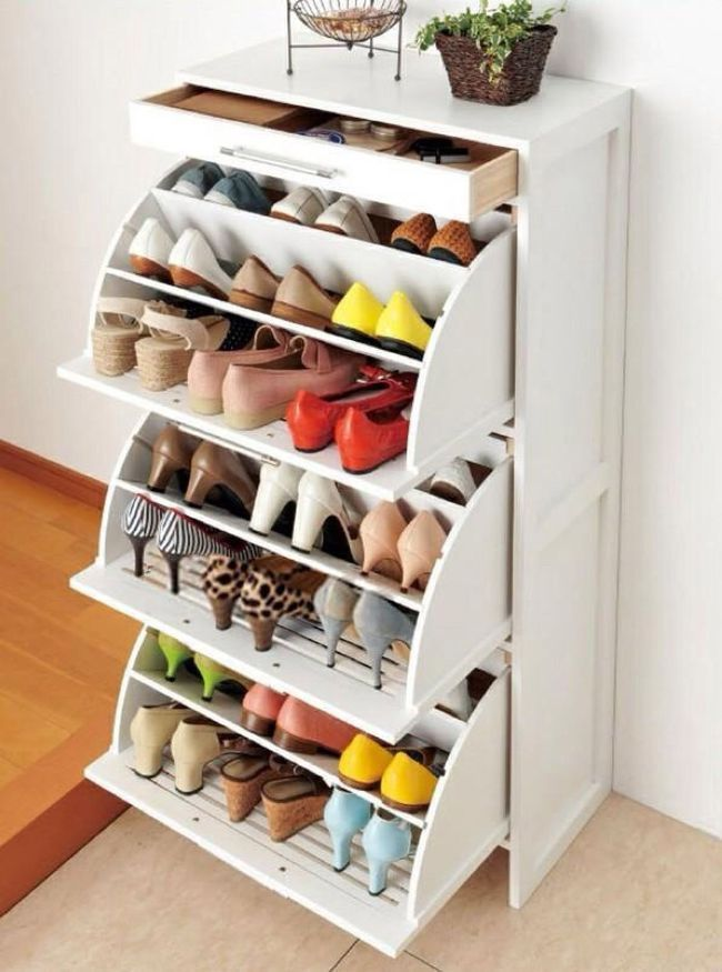 Superior IKEA Shoe Drawers To Put Inside Your Closet. This Holds 27 Pairs Of Shoes.  Keep The Drawers Open If You Want The Shoes To Air Out.