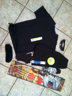 hawkeye costume & Last Minute Costume Idea: Hawkeye from the Avengers | Pinterest ...