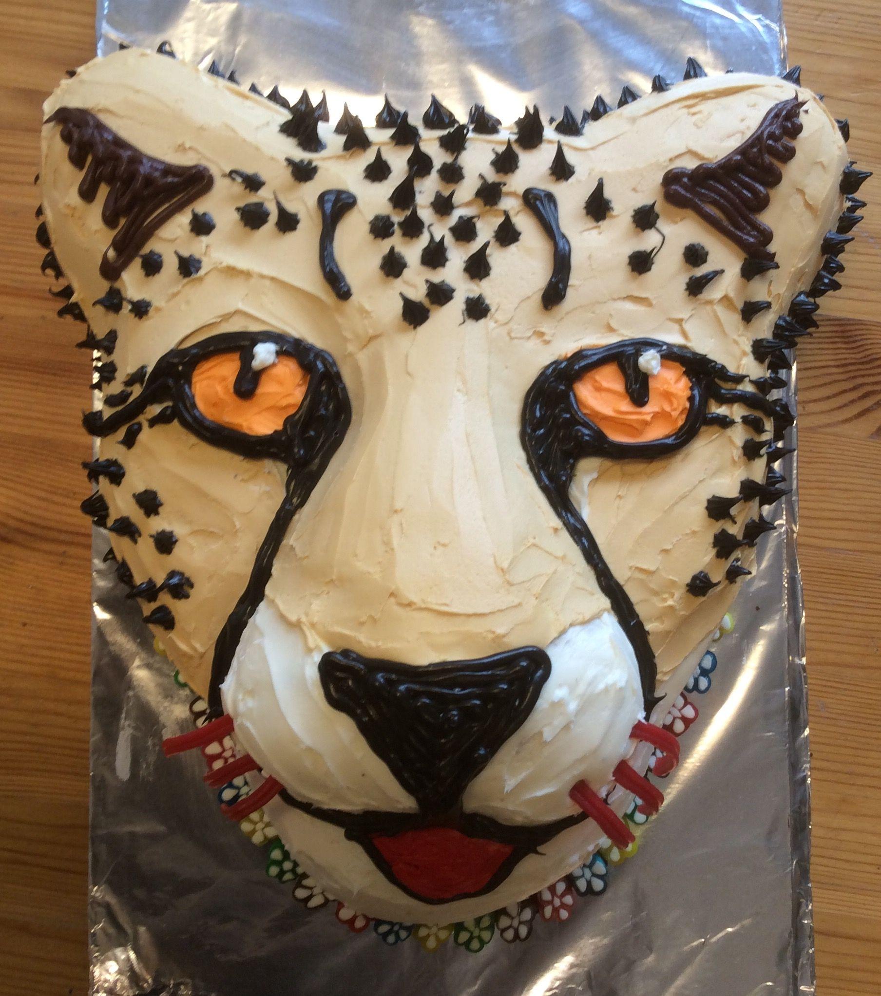 Prime Cheetah Cake Cheetah Birthday Cakes Cheetah Birthday Party Funny Birthday Cards Online Benoljebrpdamsfinfo