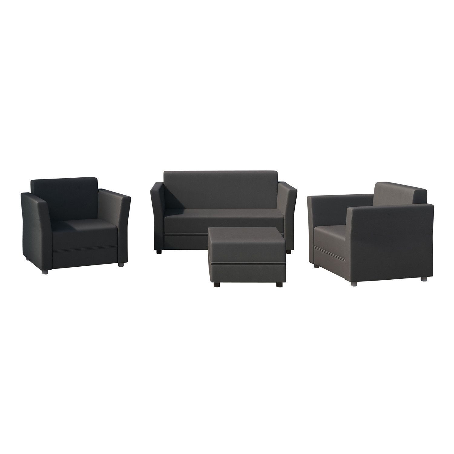 Verona 4 Piece Sofa Set with Cushions