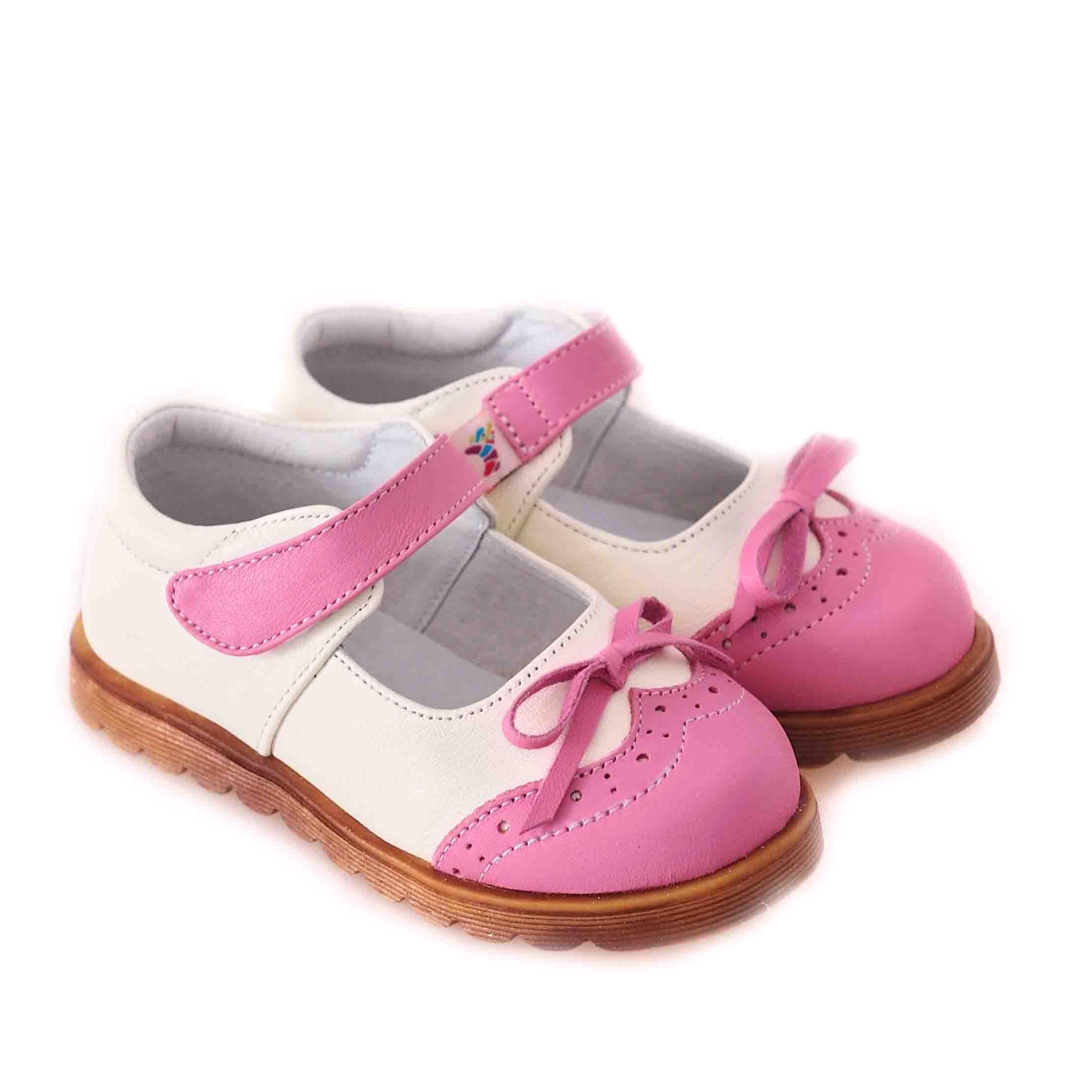 CAROCH 100% Genuine Leather Kids Girl Shoes C-3301CP (C-3301CP ...