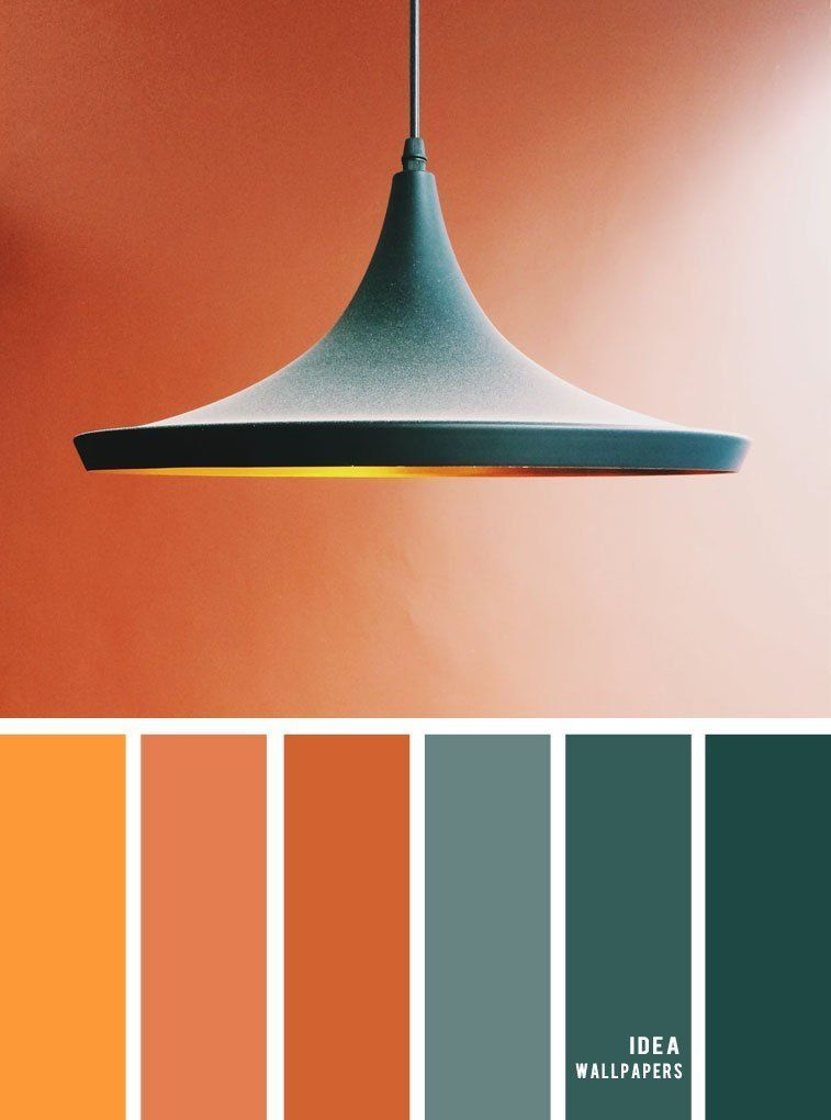 Pin By Cat On Color In 2020 Bedroom Colour Palette Orange Color