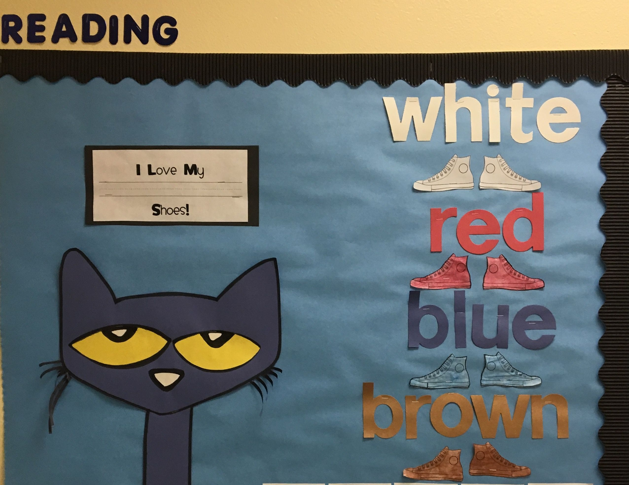 Pete the cat classroom book | Pete the cat birthday ... |Pete The Cat Reading Log