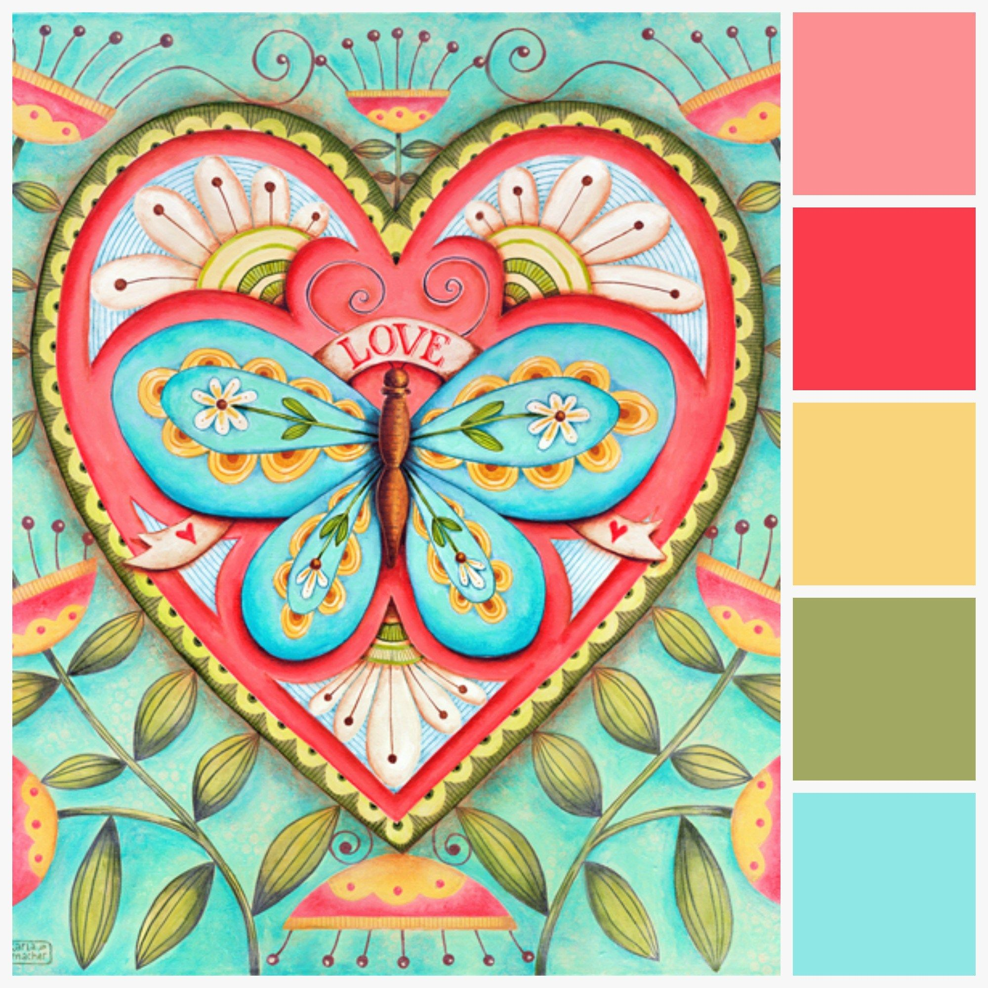 Color Palette Inspiration Karla S Coloring Pages Create