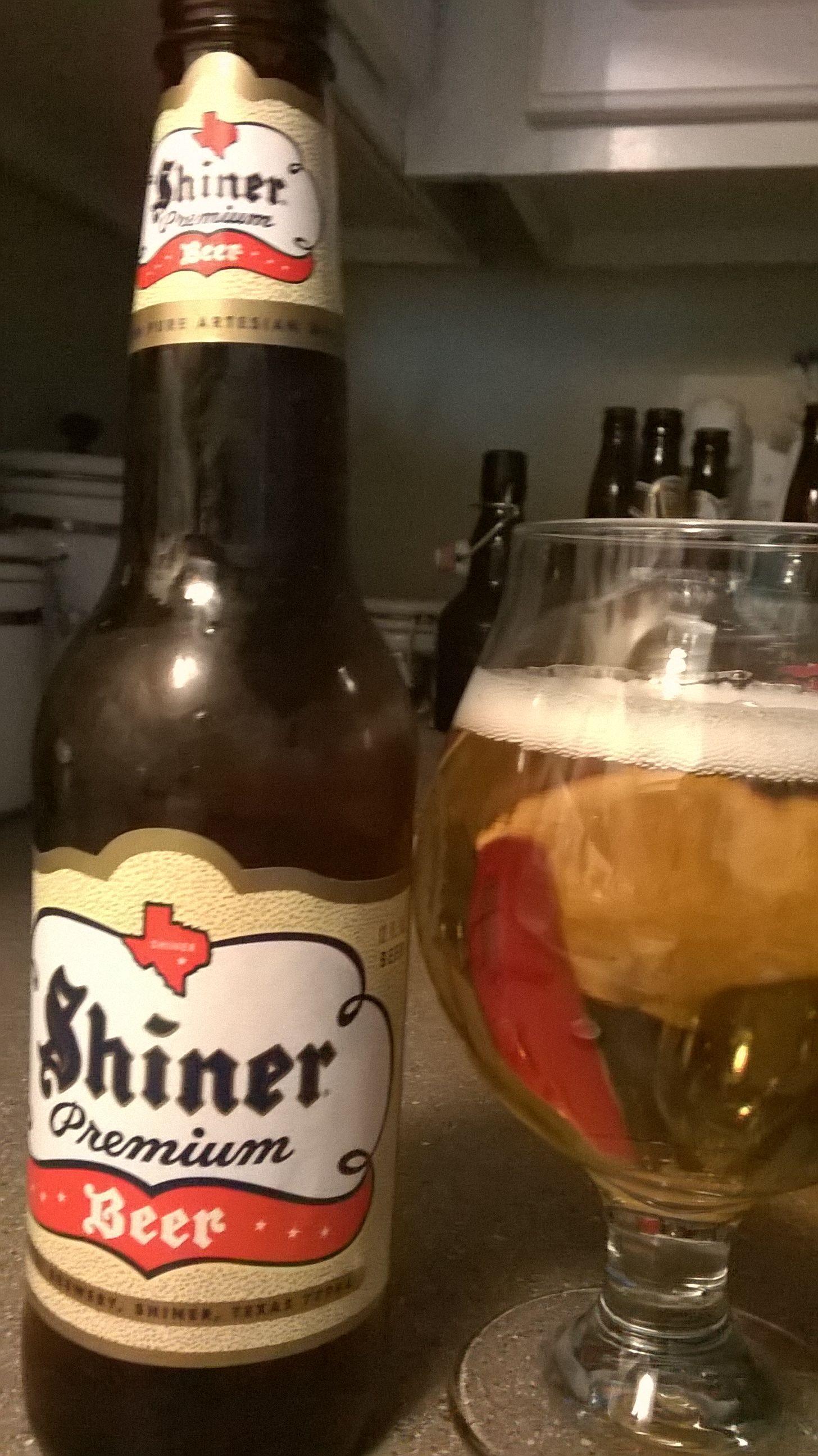 Shiner Premium Lager Cerveja