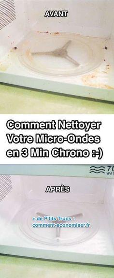 Comment Nettoyer Votre Micro-Ondes en 3 Min Chrono Avec du Vinaigre