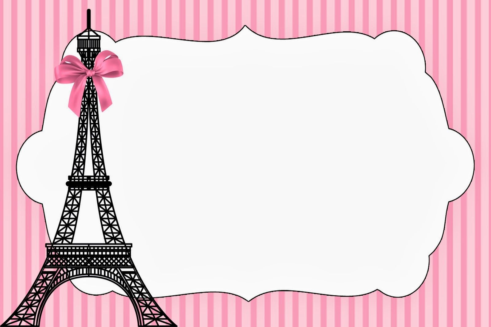 Paris Invitations on Pinterest | Paris Prom Theme, Paris ...