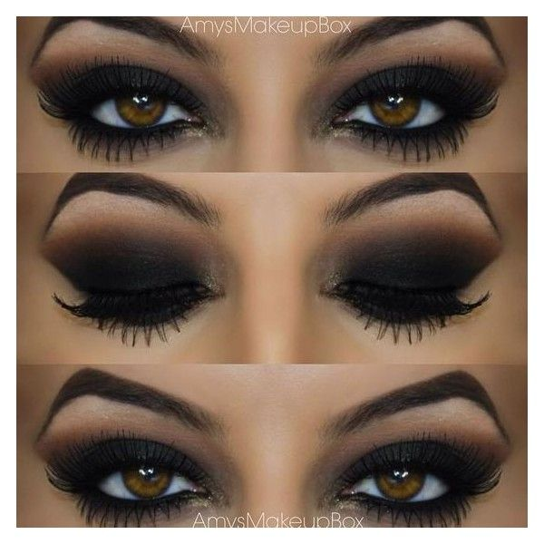 Seductive Smokey Eye Liked On Polyvore Featuring Beauty