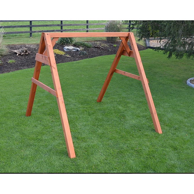 A L Furniture Co 5 4x4 A Frame Swing Stand For Swing Or Swingbed A Frame Swing Swing Set Diy Diy Swing