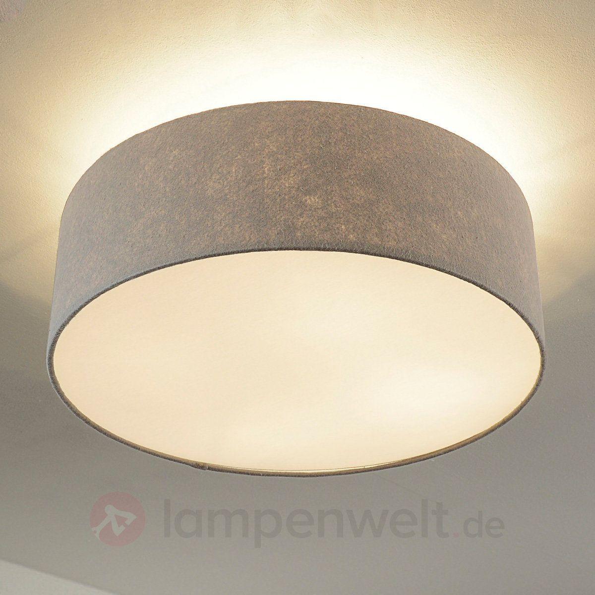 delightful schlafzimmer deckenlampe #1: Deckenleuchte 71764 modern Stoff taupe rund | Dream home | Pinterest |  Taupe, Modern and Room