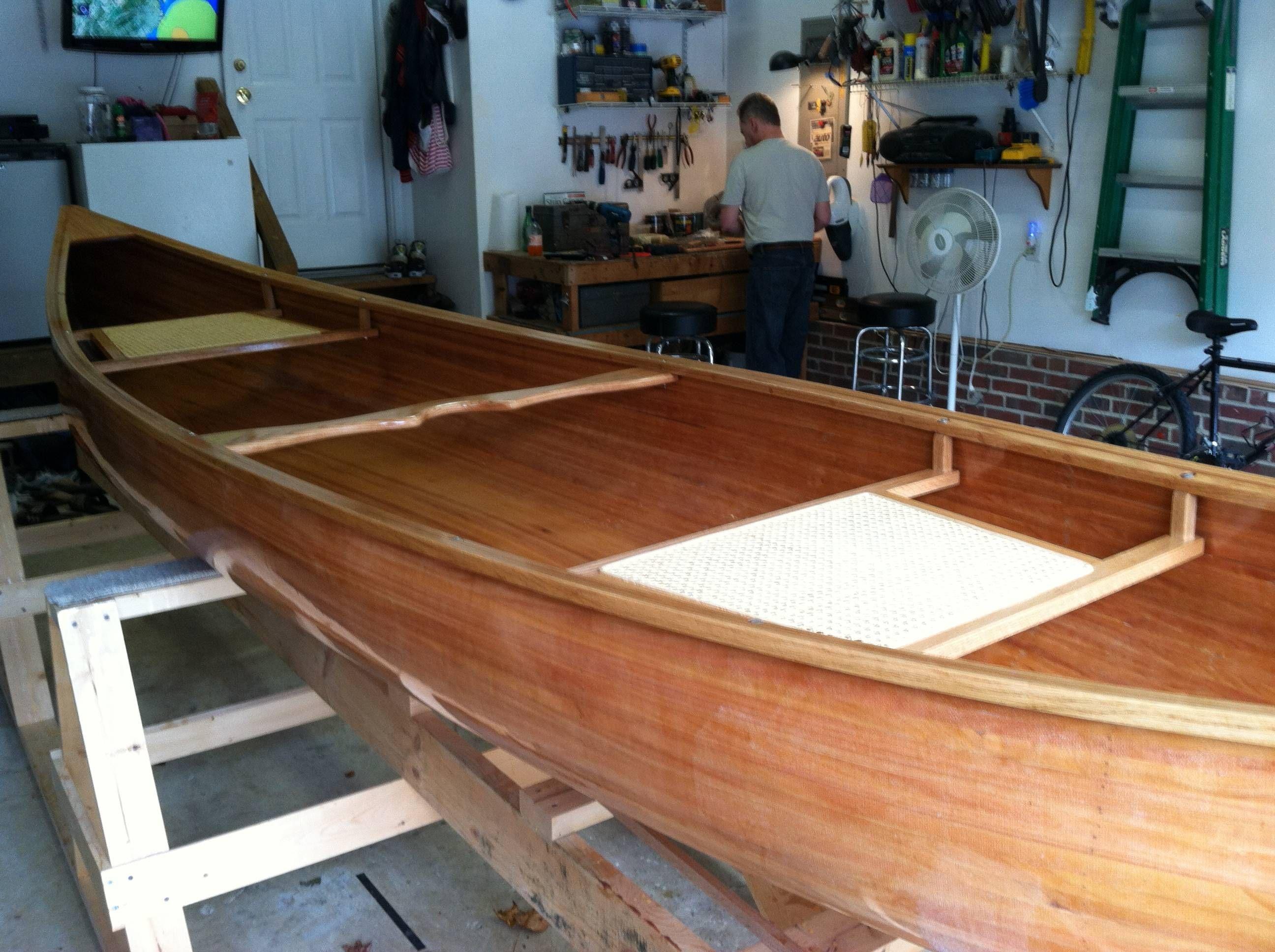 Cedar Strip Canoe Canoe, Home decor, Entryway tables