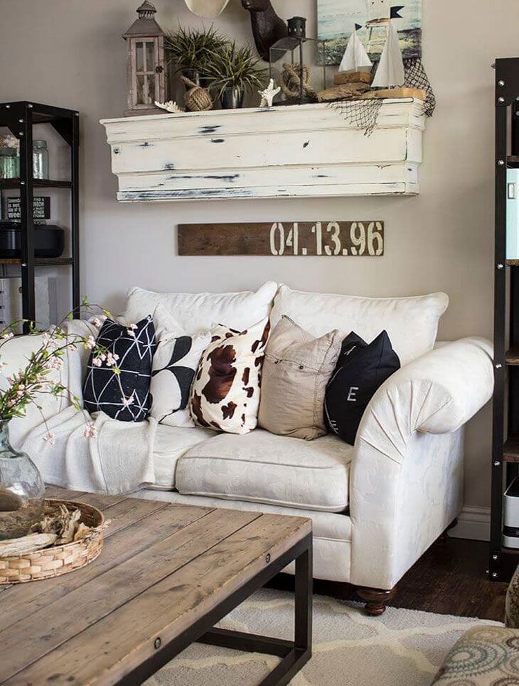 Farmhouse Decor Ideas For Small Living Room