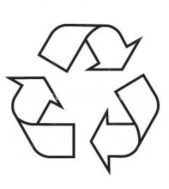 Recycling Symbol Printable Clipart Best Desenhos Coloridos