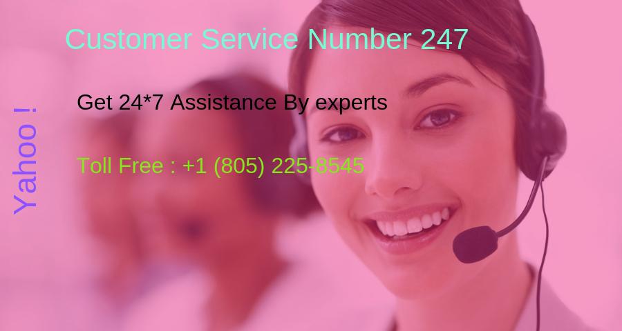How find yahoo customer service number (805) 225-8545 visit