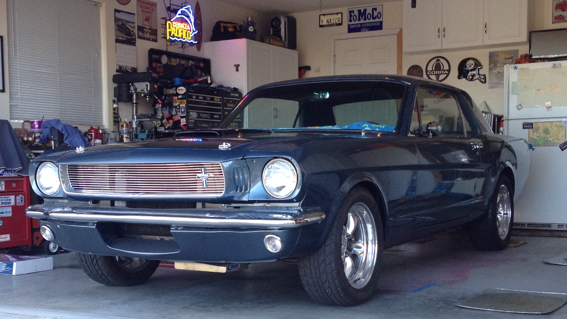 Our 65 Hardtop She S Almost Finished Classic Mustang Mustang Mustang Cars