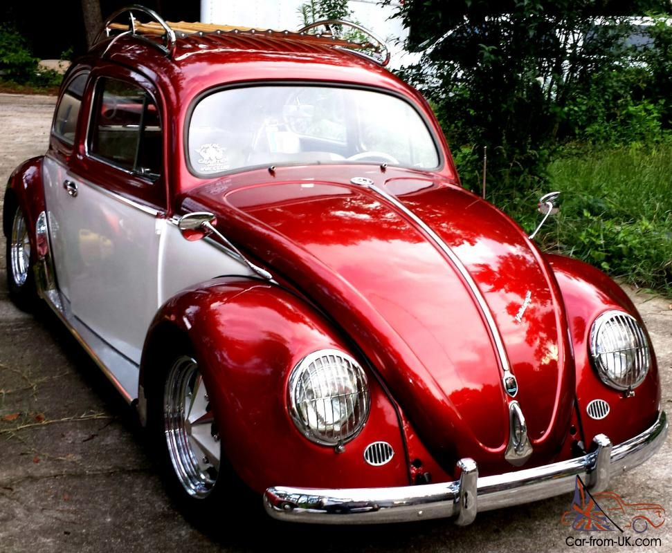 This Bug Is A Matching Numbers Car With Clean Title In
