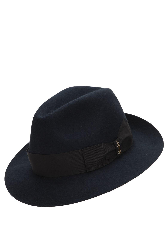 010a3d520bd BORSALINO TRAVELLER FUR FELT HAT.  borsalino