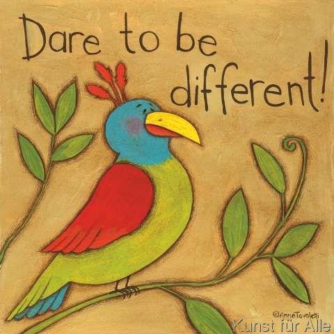 Anne Tavoletti - Be Different