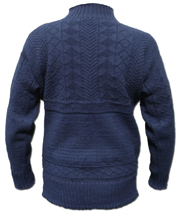 Polperro Gansey Knitting For Men Mens Knit Sweater Hand Knitted