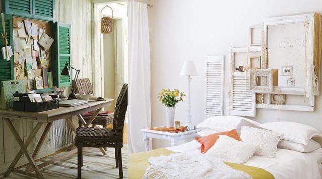 Decorar con ventanas antiguas reciclar ideas interior for Como reciclar puertas antiguas