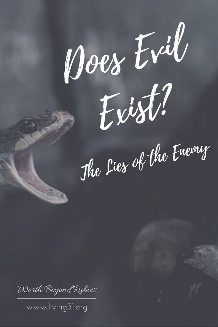 does evil exist the lies of the enemy that s life pinterest
