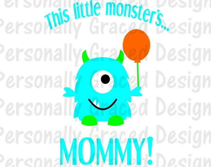 Pin On 1 Monster Bday
