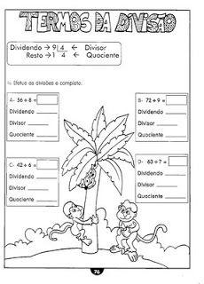 Atividades Divisão 2 E 3 Anos Ens Fundamental Portal Escola