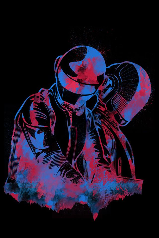 Daft Punk iPhone Wallpaper | Punk dibujo, Arte punk ...