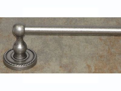 View The Top Knobs ED10F Edwardian Bath 30 Inch Single Towel Bar Rope  Backplate At FaucetDirect