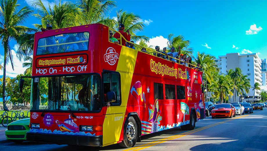 See Miami S Famous Landmarks On Hop Off Bus Tour