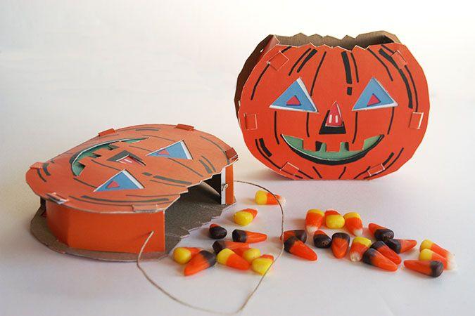Paper Pumpkin DIY - My Paper Crane