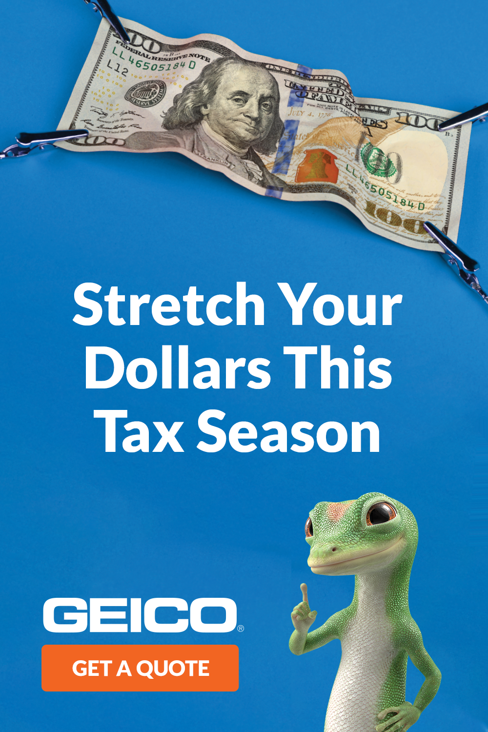 Get a quote with GEICO and see how easy it is to save big