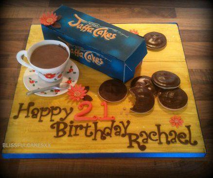 JAFFA CAKES  Cake by Barbarac