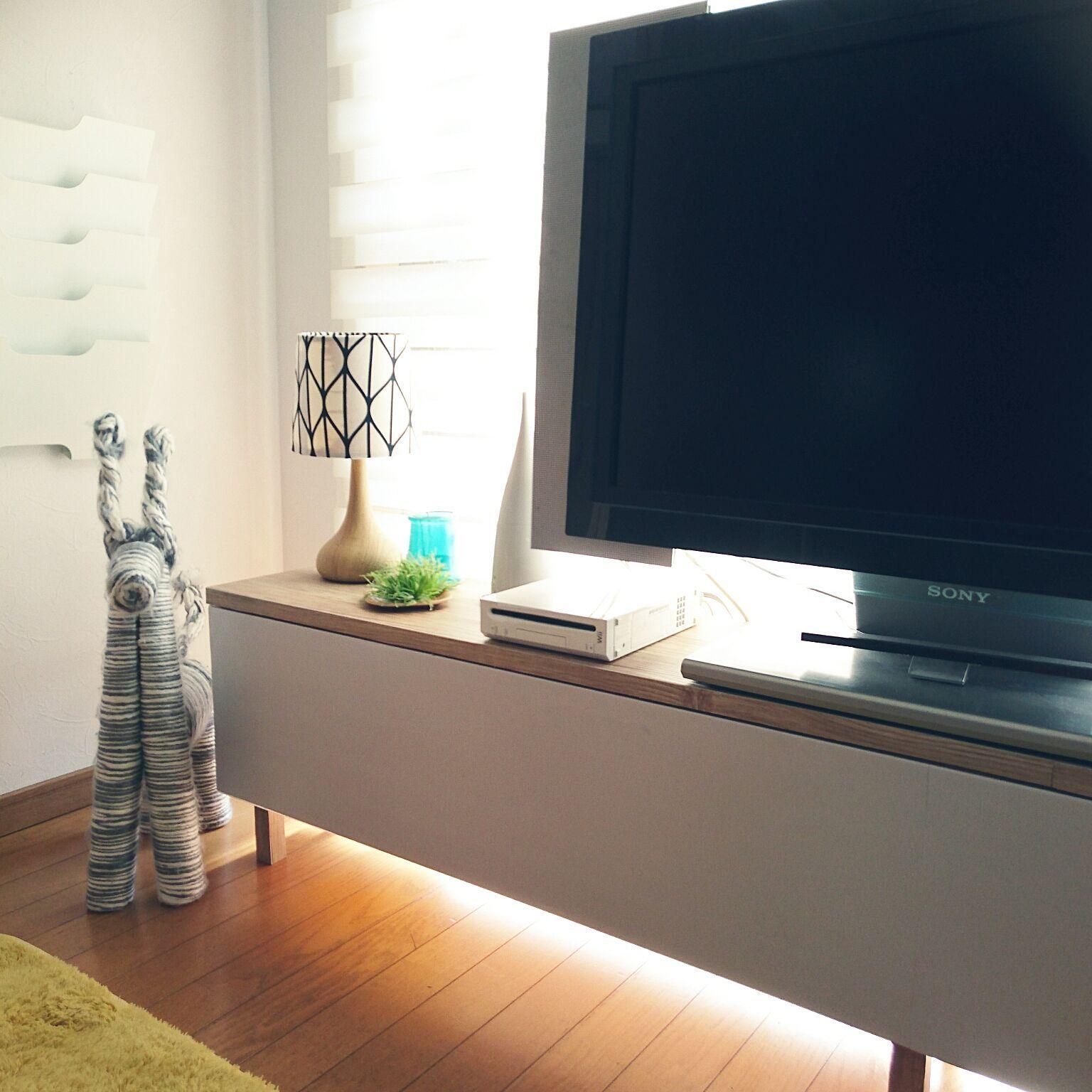 リビング 六畳 Ikea テレビ台のインテリア実例 2016 02 28 13 07 09 Roomclip ルームクリップ リビング 六畳 インテリア 実例 インテリア