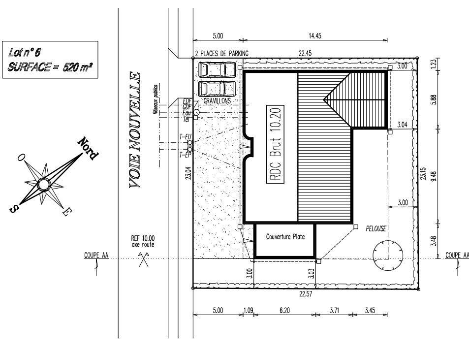 Plan De Masse Plan Masse Plan Maison Plan De Maison