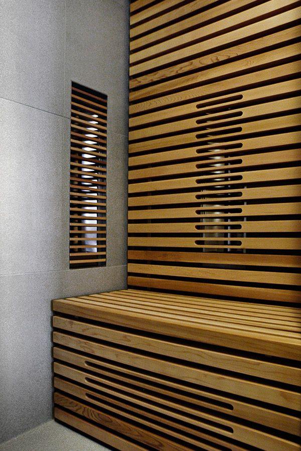 infrarood sauna in badkamer - Google zoeken | Sauna | Pinterest ...