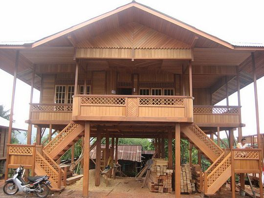 Cool Modern Wooden House Design Wooden House Design Wooden Home Largest Home Design Picture Inspirations Pitcheantrous