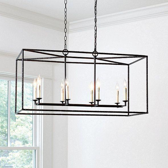 Hadley 8 light pendant rectangular hadley 8 light pendant rectangular ballard designs aloadofball Images